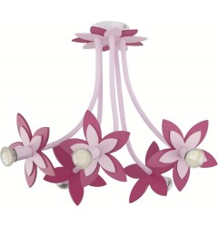 Lustra FLOWERS PINK 6896